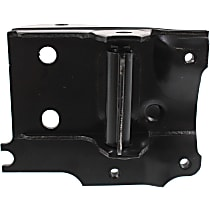 Front, Driver Side Bumper Bracket - Mounting Plate