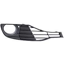 Fog Light Trim - Passenger Side, Textured Black, without Sport Package, Standard Models