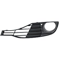 Fog Light Trim - Driver Side, Textured Black, without Sport Package, Standard Models