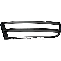 Passenger Side, Bumper Grille, Textured Black