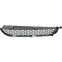 Driver Side, Bumper Grille, Black