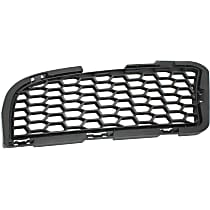 Passenger Side, Bumper Grille, Textured Black