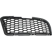Driver Side, Bumper Grille, Textured Black