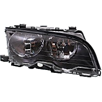 Headlight - Passenger Side, For Coupe or Convertible, With Bulb(s)