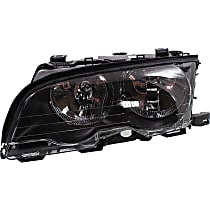Headlight - Driver Side, For Coupe or Convertible, With Bulb(s)