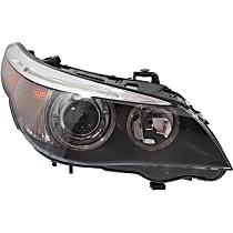 Headlight - Passenger Side, HID/Xenon, Models w/o Adaptive Headlamps