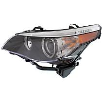 Headlight - Driver Side, HID/Xenon, Models w/o Adaptive Headlamps