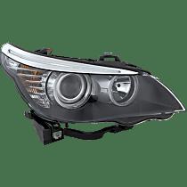 Sedan, Passenger Side Halogen Headlight, With bulb(s)