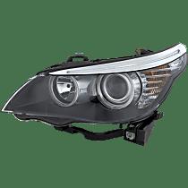 Sedan, Driver Side Halogen Headlight, With bulb(s)