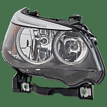 Passenger Side Halogen Headlight, With bulb(s) - Sedan/(Wagon 06-07), Vehicles w/o Auto Adj. Headlights