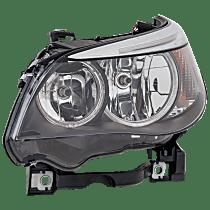 Driver Side Halogen Headlight, With bulb(s) - Sedan(04-07)/Wagon (06-07)