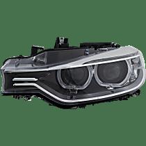 Driver Side HID/Xenon Headlight, Without bulb(s) - Sedan/Wagon