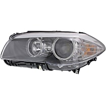 Sedan, Driver Side Headlight, With bulb(s) - Without Auto Adjust Headlights,