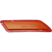 CAPA Certified Front, Passenger Side Bumper Reflector
