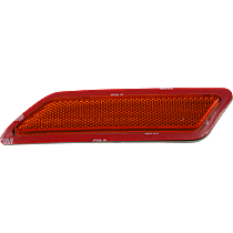 CAPA Certified Front, Driver Side Bumper Reflector
