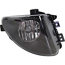 Fog Light Lens and Housing - Passenger Side, with Plastic Lens
