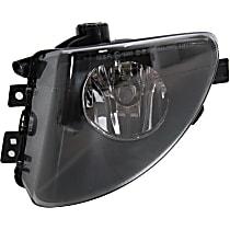 Fog Light Lens and Housing - Driver Side, with Plastic Lens