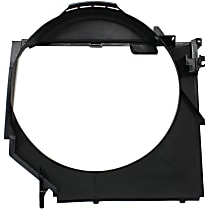 Fan Shroud, Fits Radiator Fan - E46, For Mechanical Fans