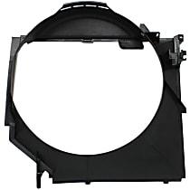 Fan Shroud, Fits Radiator Fan - E46, For Mechanical Fans
