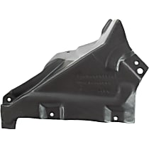 Fender Liner - Front, Passenger Side, Rear Section, Convertible/Coupe, Lower Reinforcement Panel