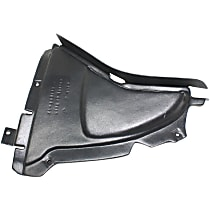 Fender Liner - Front, Passenger Side, Front Lower Section