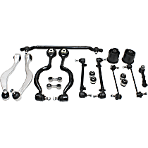 Control Arm - Front and Rear, Driver and Passenger Side, Upper and Lower, Frontward