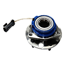 Front, Driver or Passenger Side Wheel Hub and Bearing Assembly, For FWD Models with 4-Wheel ABS