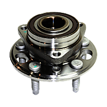 Front or Rear, Driver or Passenger Side Wheel Hub With Ball Bearing, ABS encoder and wheel studs - Sold Individually