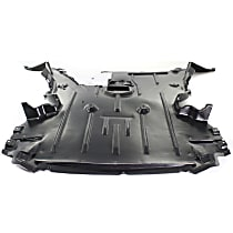 Front Engine Splash Shield - Center Section, Convertible