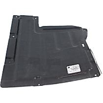 Front Engine Splash Shield - Center Section, Convertible, Automatic Transmission, No. 1