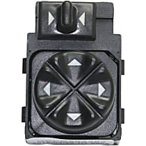 Replacement REPB504302 Mirror Switch - Direct Fit, Sold individually