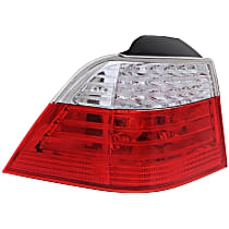 Tail Light - Driver Side, Outer, Wagon, Mounts on Body