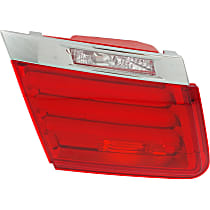 Driver Side, Inner Tail Light, Without bulb(s) - Clear & Red Lens