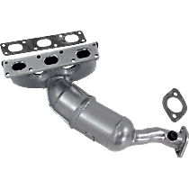 Catalytic Converter Rear, For Models with 2.5L & 3.0L M54 Eng California Emissions 47-State Legal (Cannot ship to CA, NY or ME)
