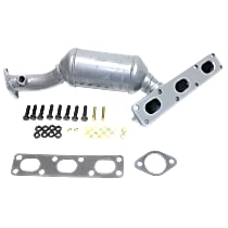 Catalytic Converter Rear, For Models with 2.5L & 3.0L Eng California Emissions 47-State Legal (Cannot ship to CA, NY or ME)