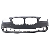 Bumper Cover - Front, 1 Piece, Primed, For Models Without M Package and Park Distance Control