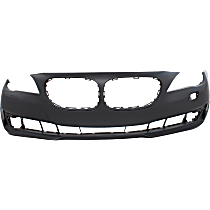 Bumper Cover - Front, 1 Piece, Primed, For Models Without M Package and Park Distance Control, CAPA Certified