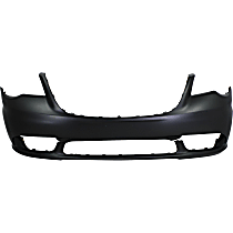 Front Bumper Cover, Primed - 2011-16 Chrysler Town & Country