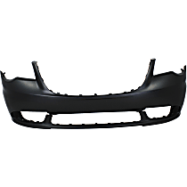 Front Bumper Cover, Primed - 2011-16 Chrysler Town & Country, CAPA CERTIFIED