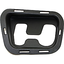 Front, Passenger Side Tow Eye Cover, Textured