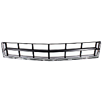 CAPA Certified Bumper Grille, Textured Gray