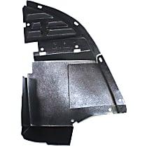Valance - Front, Passenger Side, Lower Side Deflector, Primed
