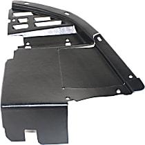 Front, Driver Side Valance, Lower Side Deflector, Primed