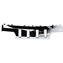 Replacement REPC050107 Front Skid Plate, Chrome, Direct Fit
