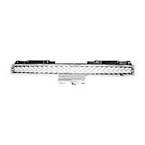Grille Assembly - Chrome Shell with Painted Gray (Platinum) Insert