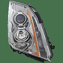 Coupe/Sedan/Wagon, Passenger Side Headlight, With bulb(s)