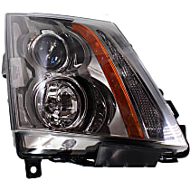 Coupe/Sedan/Wagon, Passenger Side Headlight, With bulb(s), CAPA CERTIFIED