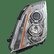 Coupe/Sedan/Wagon, Driver Side Headlight, With bulb(s)