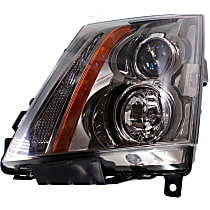 Coupe/Sedan/Wagon, Driver Side Headlight, With bulb(s), CAPA CERTIFIED