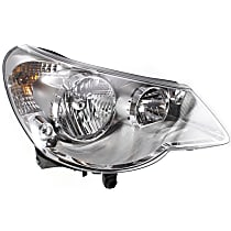 Passenger Side Headlight, With bulb(s) - Convertible/Sedan, Type 1